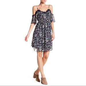 DR2 by Daniel Rainn Floral Lace Trim Dress Size XL
